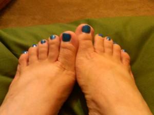 My feet always kiss the earth!