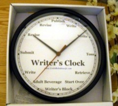 Writers_Clock_ Black
