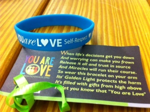 You Are Love Bracelets created by Shelley Barchowitz-Godberg