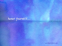 honor_yourself
