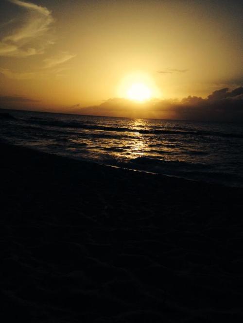 Sunset near Pupukea Hawaii; Photo coutesy of  Kathleen Kendle