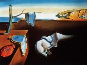 Salvador Dali's The Persistence of Memory  Courtesy of http://www.themost10.com/famous-salvador-dali-artworks/