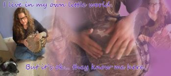 In my own world! February 2015 - darker letting