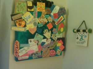 Vision Board for Chava Created March 31, 2010