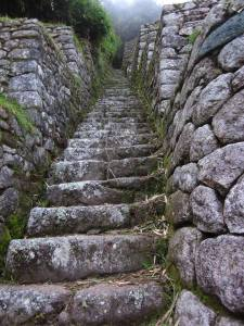 Inca trail to Macchu Piccu -Credit Lauren Rader's Art and Releasing the Creative Powers Within Classes
