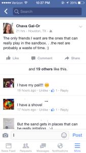 Sandbox - Facebook comment2