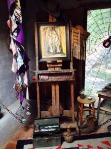 DeGrazia Gallery in the Sun - Easel