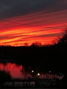 Sunset Wilmington NC by Lynne Klein