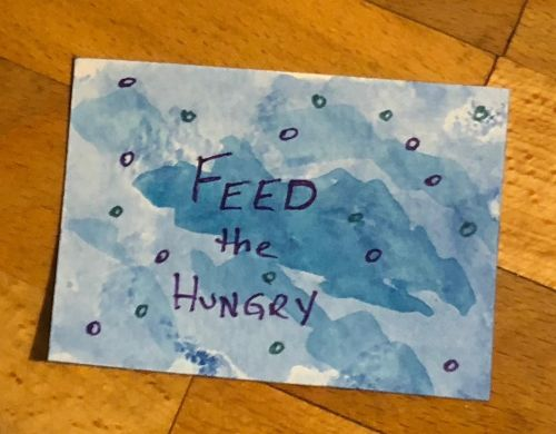 Day 5 - Feed the hungry