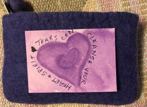 Day 55 - Tears Can Cleanse your heart and spirit