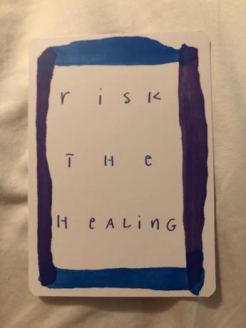 Risk the healing 1